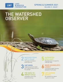 Cover of the watershed observer spring & summer 2021