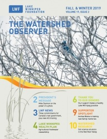 Image of the LWF fall and winter 2019 newsletter cover