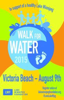 Walk for Water 2015 Victoria Beach